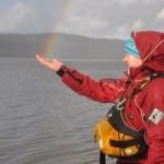 Catching a rainbow